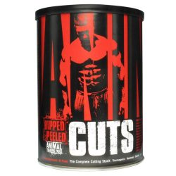 Universal Nutrition Animal Cuts 42 csomag + ajándék Animal Flex Powder 89g