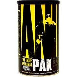 Universal Nutrition Animal Pak + ajándék Animal Flex Powder 89 g