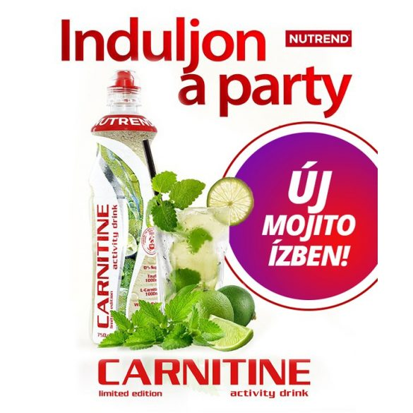 Nutrend Carnitine Activity Drink Koffeinnel - 750 ml