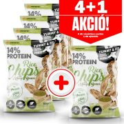 Forpro 14% Protein Rice Chips With Mung Beans 60g - 4+1 akció