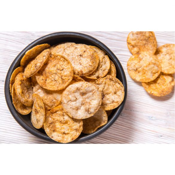 Forpro 14% Protein Rice Chips With Beluga Lentils 60g