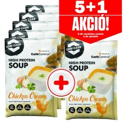 Forpro High Protein Soup Chicken Cream - 27 g - 5+1 akció
