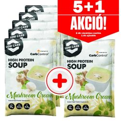 Forpro High Protein Soup Mushroom Cream - 28 g - 5+1 akció