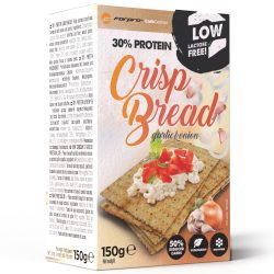 Forpro 30% Protein Crisp Bread - Garlic & Onion - 150g
