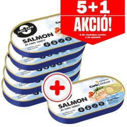 Forpro SALMON in own sauce 170g - 4+1 akció