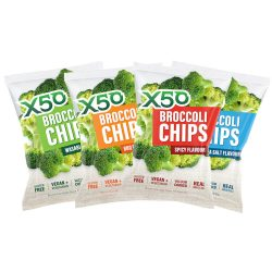 X50 Broccoli Chips - 60g