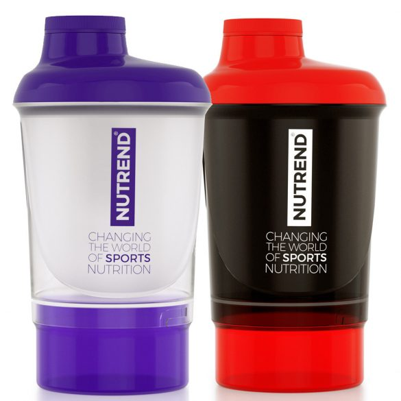 Nutrend Shaker + additional cup 300 ml