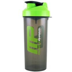 MusclePharm Shaker Green/Transparentl Shake 1000ml