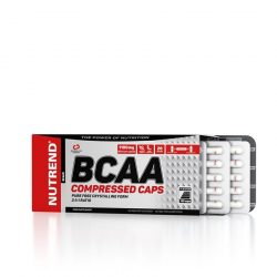 Nutrend BCAA COMPRESSED CAPS 120 tabletta